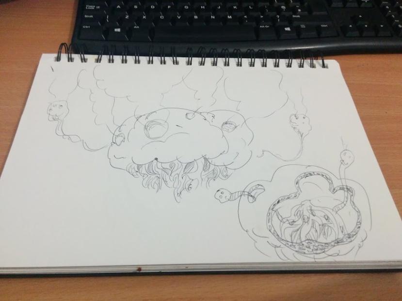 spore sketches